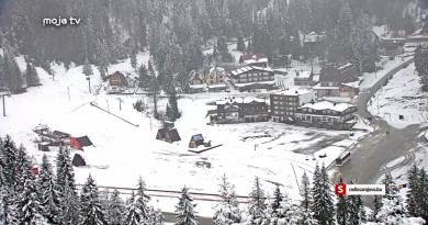 Snijeg na planinama - prvi maj