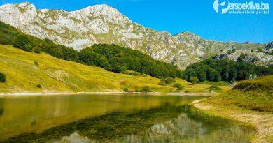 Orlovačko Jezero Zelengora
