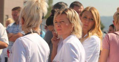 Štrajk zdravsrvenih radnika