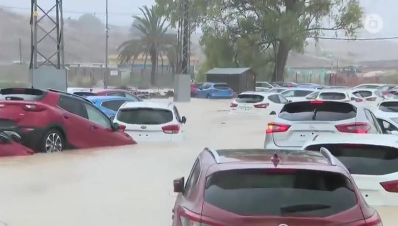 Spanije poplave