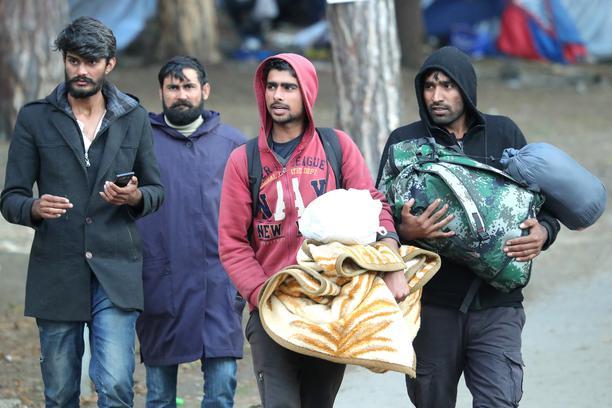 Od danas migrantima u Krajini ograničeno kretanje