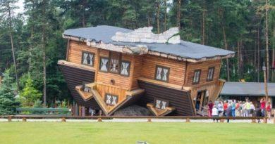 """""""Naopaka kuća"""" kao jedna od najvećih atrakcija u Poljskoj"""