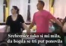Lešinarsko kolo: Srebrenice, tako si mi mila, dabogda se ponovila!