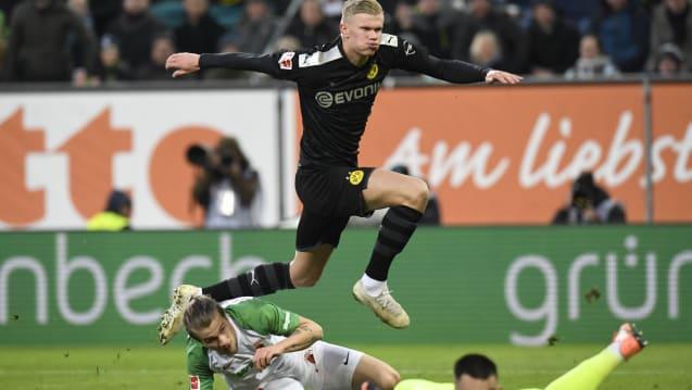 Nevjerovatni Haaland prva priča u Bundesligi: Ušao, debitovao i za 20 minuta postigao hat trick!