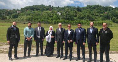 Džaferović u Srebrenici: Genocid je civilizacijska katastrofa, Srbija treba poštovati žrtve
