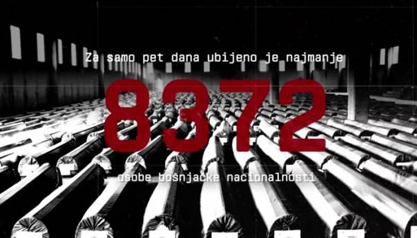 Pogledajte video najave obilježavanja 25. godišnjice genocida u Srebrenici
